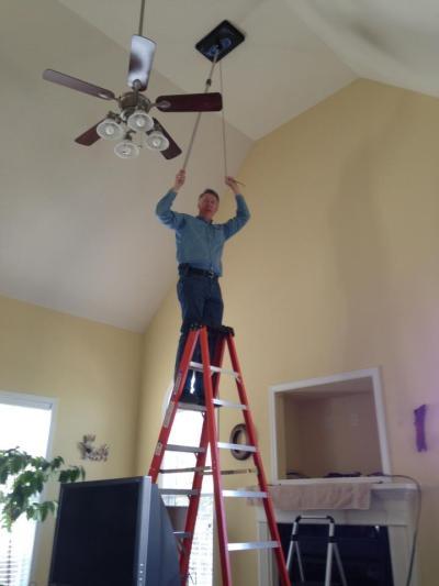 allison bailes ladder vent cap duct leakage test