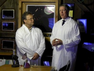 Dr. Joseph Lstiburek and Dr. Allison Bailes, discussing the Thermo Turbo Encabulator Max