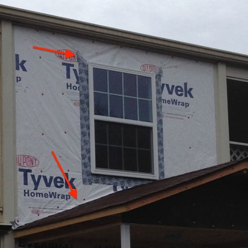 house wrap flashing details moisture management good