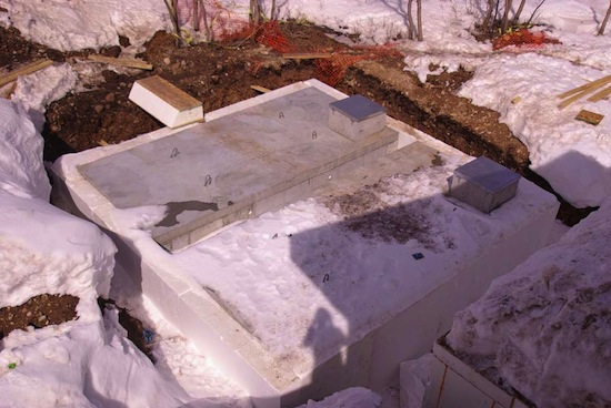 utah net zero energy home solar thermal storage tank