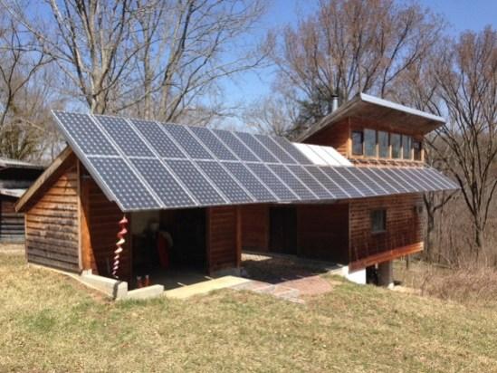 passive solar net zero house photovoltaic modules richard levine kentucky