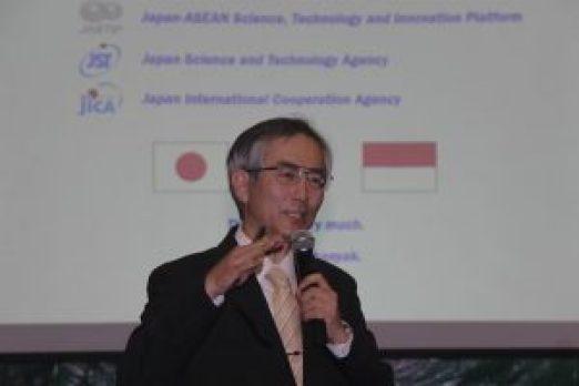 Prof. Toshiaki Umezawa (Kyoto Univ. SATREPS /ewindo