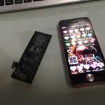 サブ機iPhone5のバッテリー交換