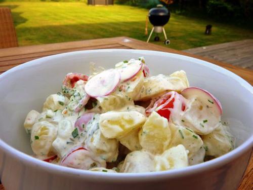 dansk potetsalat