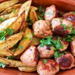 Spansk fredagskos: kjøttboller, kikertsalat og pikante båtpoteter