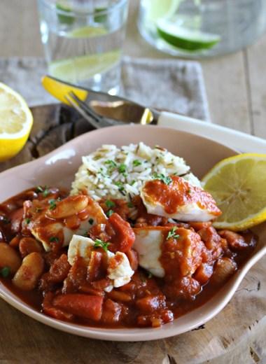 bilde av middagstallerken med chili og kveite
