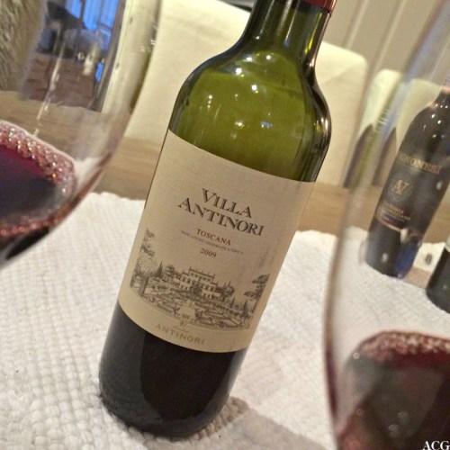 Vilde av flaske med Villa Antinori