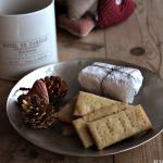 Ingefær shortbread – himmelsk til ost