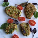 Squashkaker med brokkoli