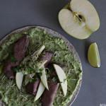 Roastbiffwrap med avokadokrem
