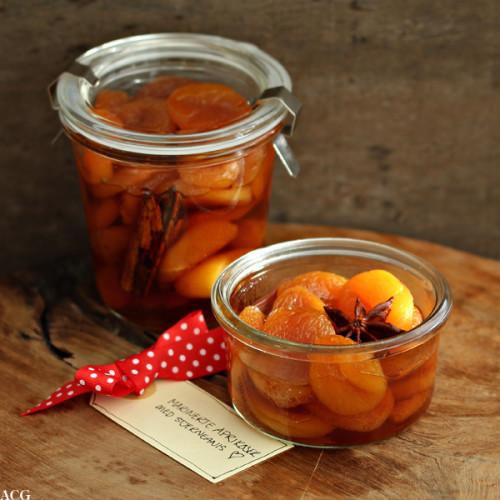 portvinsmarinerte aprikoser