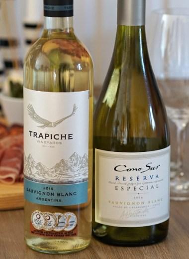 vin til apsarges: Trapiche og Cono Sur Reserva Especial Sauvignon Blanc