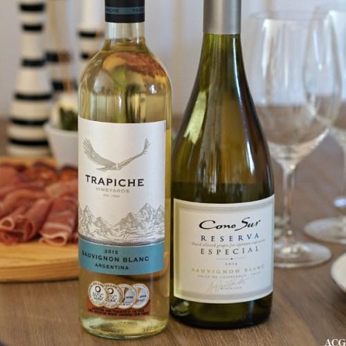 Vin til asparges: Trapiche og Cono Sur Reserva Especial Sauvignon Blanc