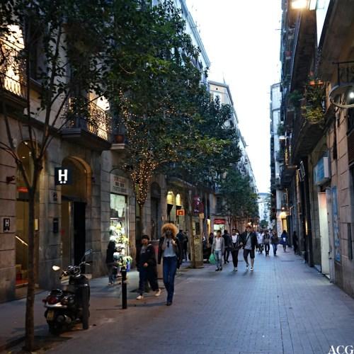 gateliv i Barcelona