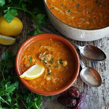 harira - marokkansk suppe
