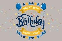 Happy 20th Birthday Balloons