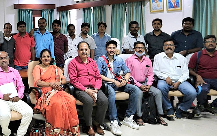 """Kovid Mittal chief guest for """"Youth Empowerment & Sports Department Centre"""" Bangalore"""