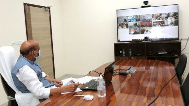 Raksha Mantri Shri Rajnath Singh reviews preparedness of Ministry of Defence & Armed Forces amid spike in COVID-19 cases