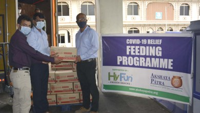 HyFun Foods donates 22500 kgs of Ready to Cook Potato cubes to The Akshaya Patra Foundation's Covid-19 Relief Donate Meal project