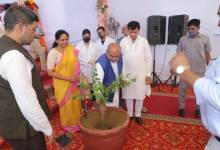 Union Agriculture Minister lays foundation stone of Plant Authority Building
