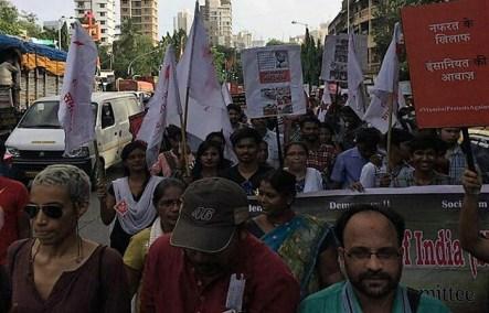 In Mumbai, the call was for Nafrat Ke Khilaf, Insaniyat Ki Awaaz