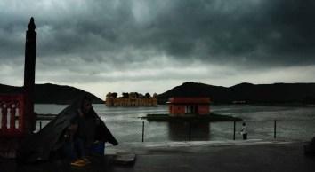 Jaipur, Rain, Jal Mahal