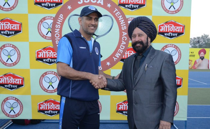 Brand Ambassador Gunwant Singh Saluja Mongia iron and steel