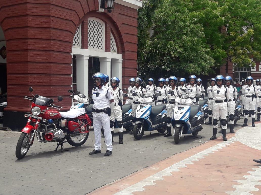 winners women police squad crime kolkata