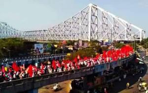Singur Kisan March farmers Bengal Dilli Chalo