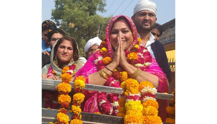 Rajasthan elections Zahida Khan meo
