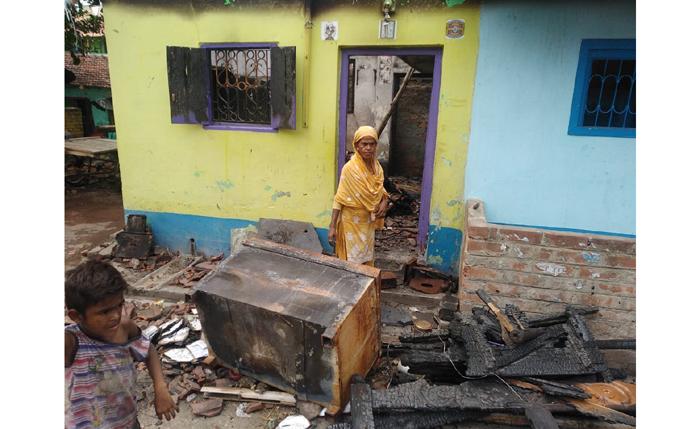 kakinara bhatpara west bengal riots loots BJP Mamata Banerjee