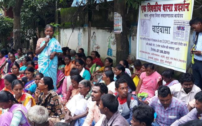 West Singhbhum aadhaar ration foodgrains jharkhand hunger deaths starvation