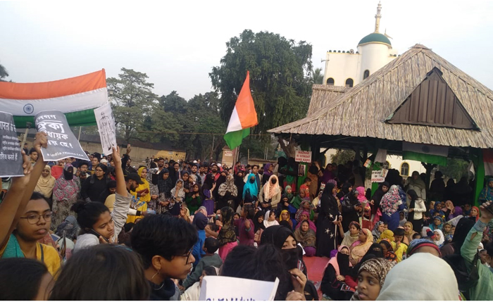 park circus women Kolkata's shaheen bagh caa nrc jnu