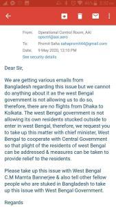 Operation Vande Bharat Bangladesh Students