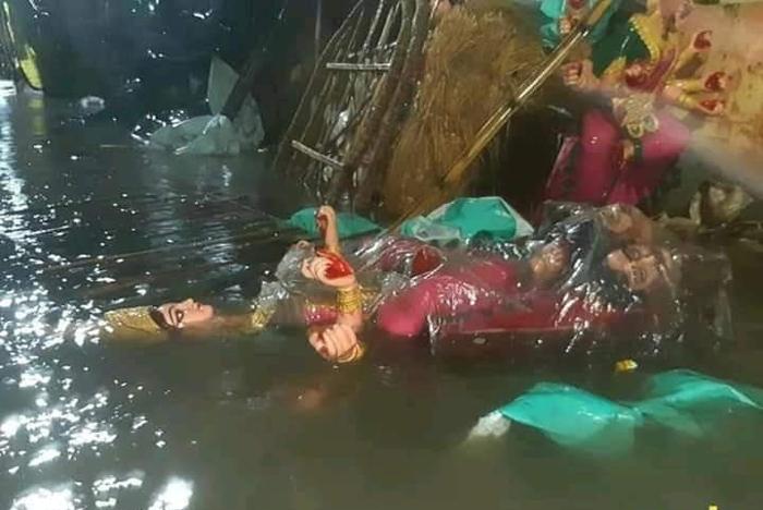 cyclone amphan idols durga puja lockdown artisans