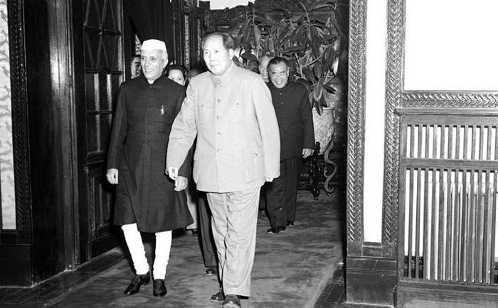 india china jawaharlal nehru - mao rift zedong 1962 war border