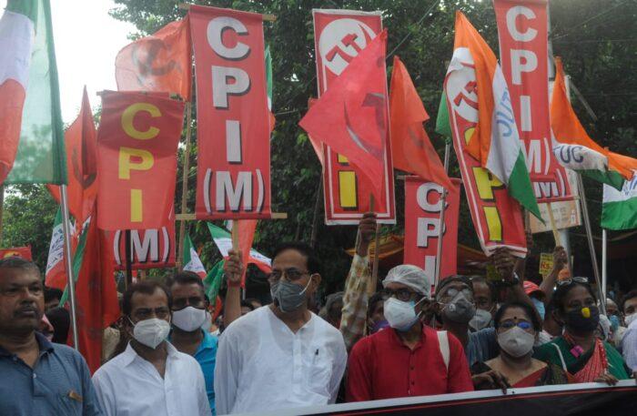 hathras rape uttar pradesh left congress