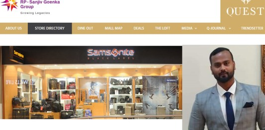 quest mall samsonite manager heart attack ambulance medical emergency