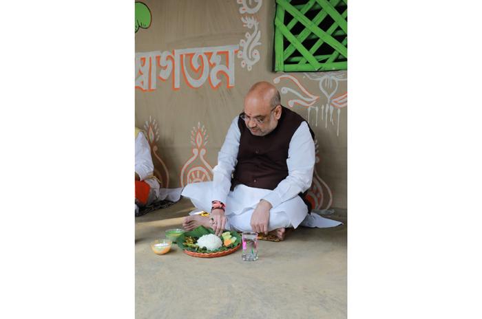 amit shah in bengal mamata banerjee tmc bjp bengal election