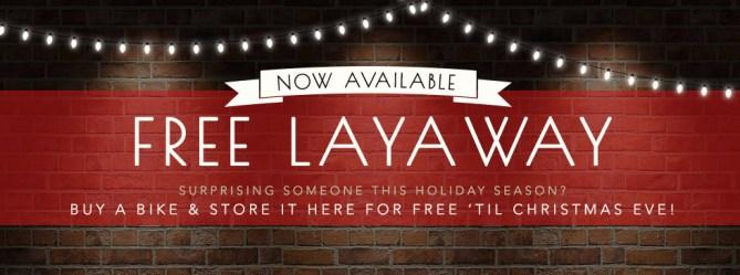 Free Layaway at Asheville Bicycle Company