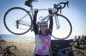 Lisa Frank's story of how cycling helped fight breast cancer
