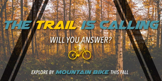 Explore on a mountain bike from Asheville Bicycle Company