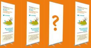 Le roll-up  : un outil de communication très utile pour vos salons