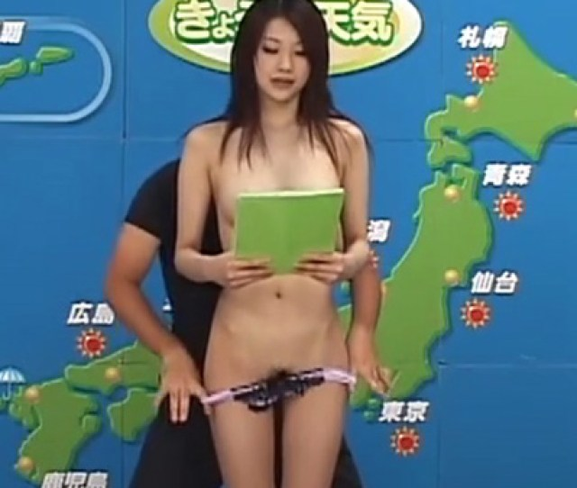 Naked News Cmnf Video Japanese Weather Woman Stripped And Groped On Air