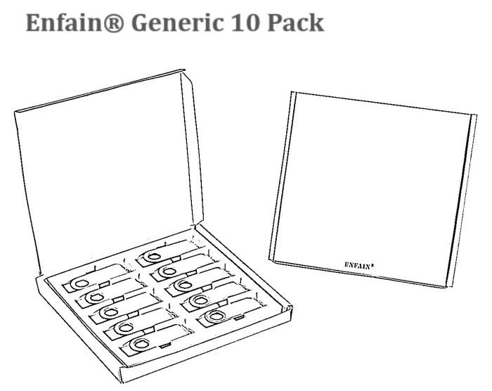 enfain 10 pack box 长