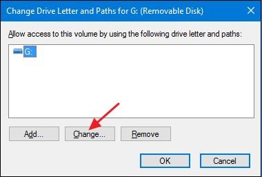 change drive letter 2