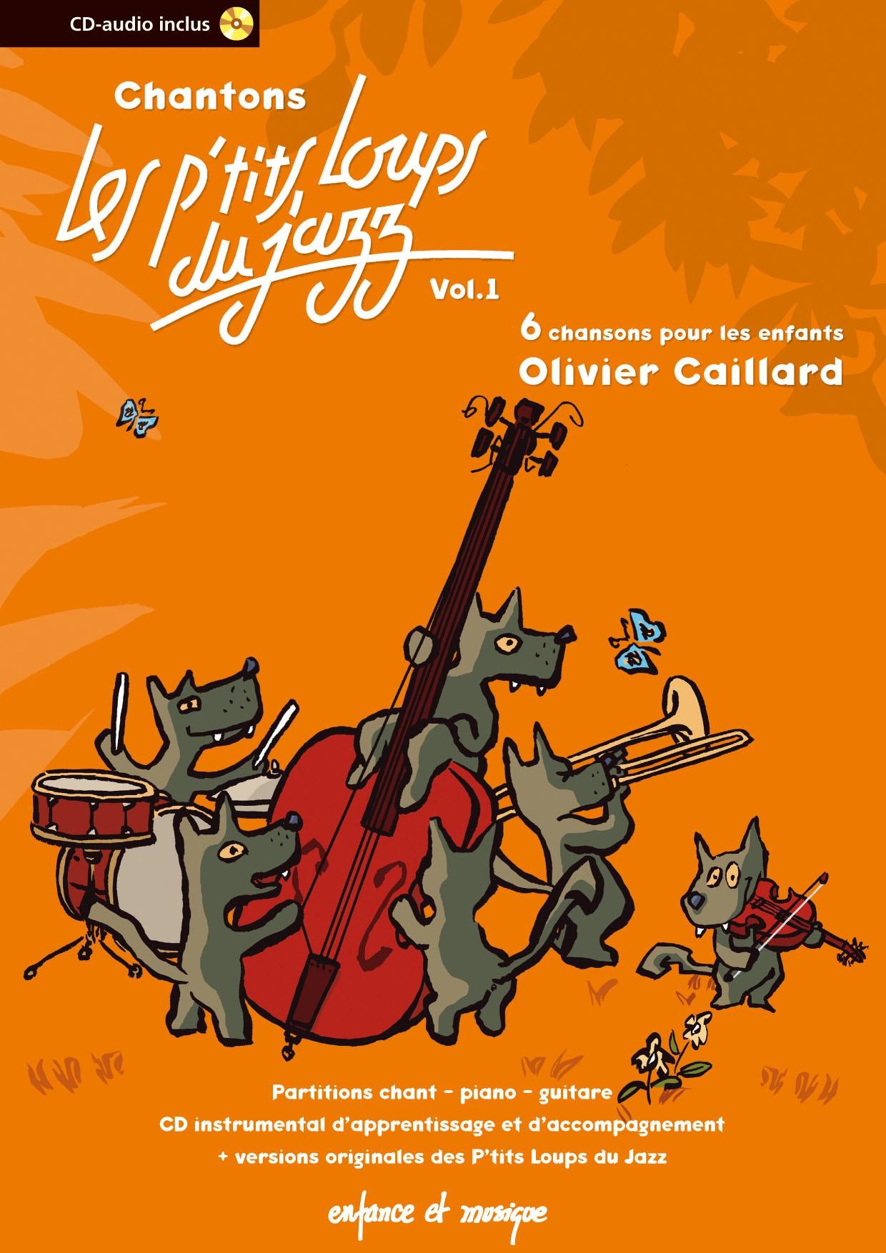 Les Ptits Loups Du Jazz : ptits, loups, Recueil, Chantons, Ptits, Loups, Chansons, Enfants, Enfancemusique.com
