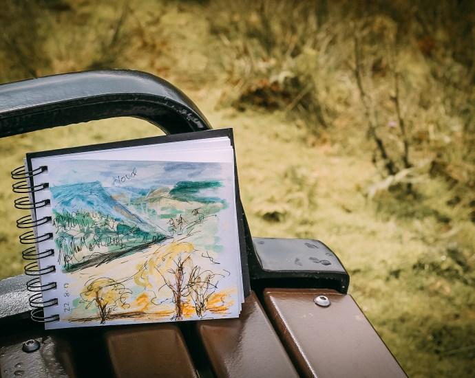 Le journal nature est un excellent de se connecter à la nature et de prendre du temps pour soi.