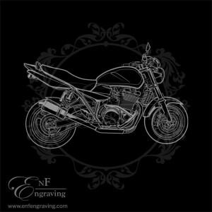 Suzuki GSX Motorcycle Artwork