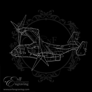 V22 Osprey Aircraft Artwork